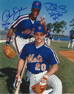 Darryl-Strawberry-Howard-Johnson-Autographed-Signed-8x10-Photo-Mets-REPRINT