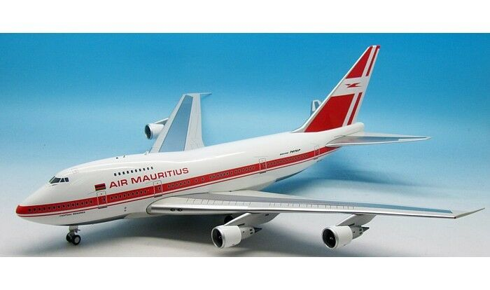 INFLIGHT 200 IF747SP0616P 1/200 AIR MAURITIUS 747SP 3B-NAQ lucido con supporto