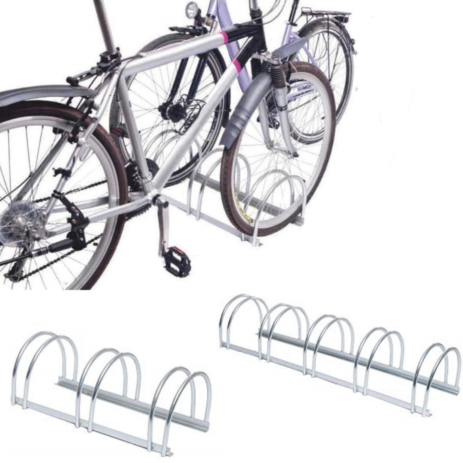 Fahrradständer Reihenparker Classic zweiseitige Radeinstellung Reifenbreite 55mm