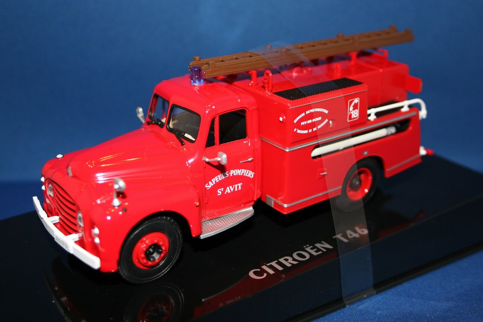 1962 CITROEN T46 POMPIERS CLASSIC FRENCH FIRE ENGINE  1 43 by NOREV 159988