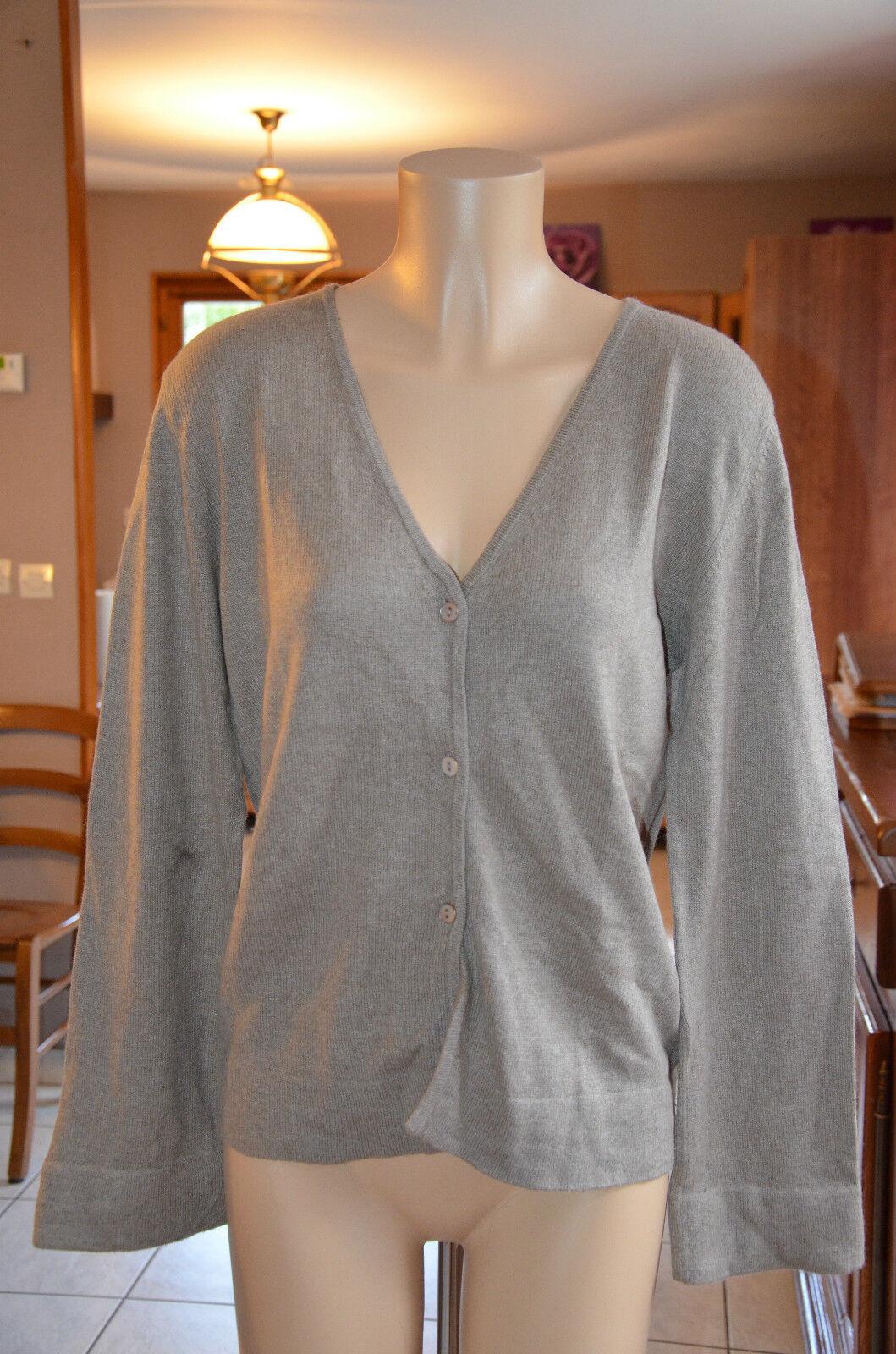 MARLBgold CLASSICS Pretty brown vest cashmere silk - size XL XL XL - MINT 3f9c89