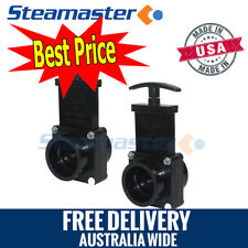 Carpet Steam Cleaning Products 2 x Gate Valve//Dump Valve for Extractor Machines