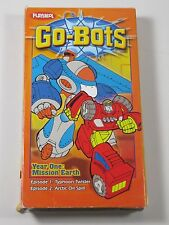 Kids VHS: Playskool: Go-Bots- Pre-Owned: Year One: Mission Earth: 2 Episodes