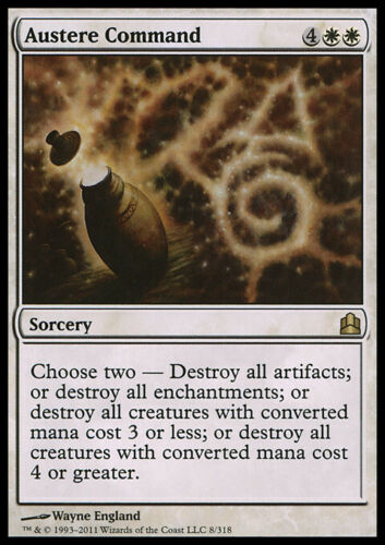 MTG AUSTERE COMMAND EXC CMD ORDINE SEVERO MAGIC