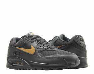 Details about Nike Air Max 90 Essential BlackMetallic Gold Men's Running Shoes AV7894 001