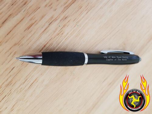 Mann3 Isle of Man TT Road Racing Ballpoint Pen With LED Light