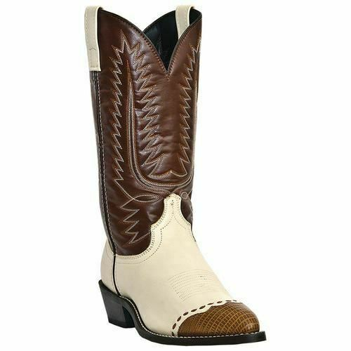 Laredo Men's Flagstaff Western Cowboy Leather Boots 61161