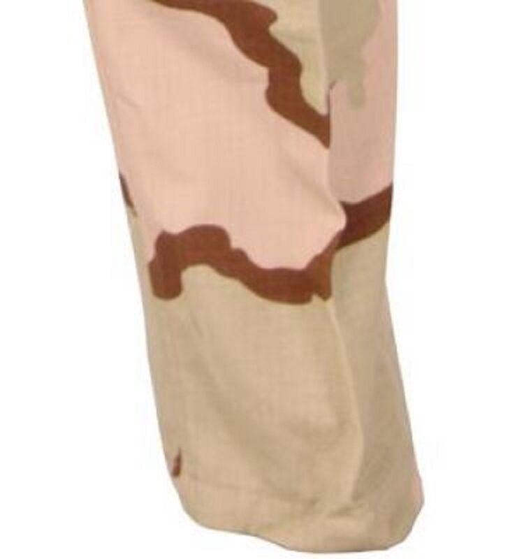 US ARMY Combat DCU 3 color Desert Combat ARMY Uniform pants trousers Hose MS Medium Short e46f62