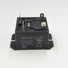 2pcs ORIGINAL12VDC JQX-37F-12-1H HF37F-37F-12-1H 30A 250VAC Relay 4PINS