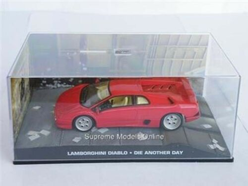 James Bond Lamborghini Diablo Muere otro día Coche Modelo 1//43RD escala R0154X ~ # ~