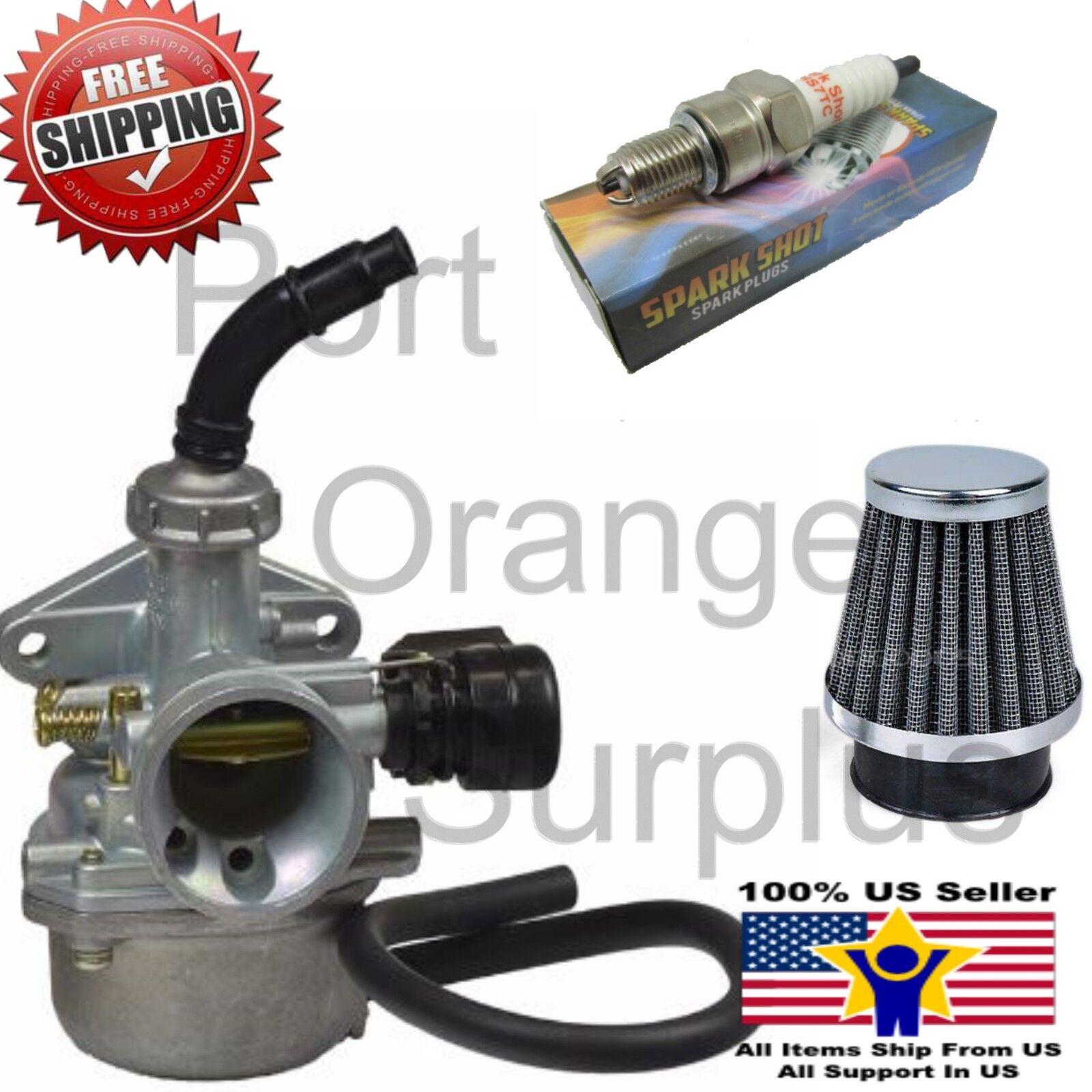 Carburetor For PZ19 Carb 50 90 110cc Lever Air Filter ATV Go-Kart Carb SUNL US