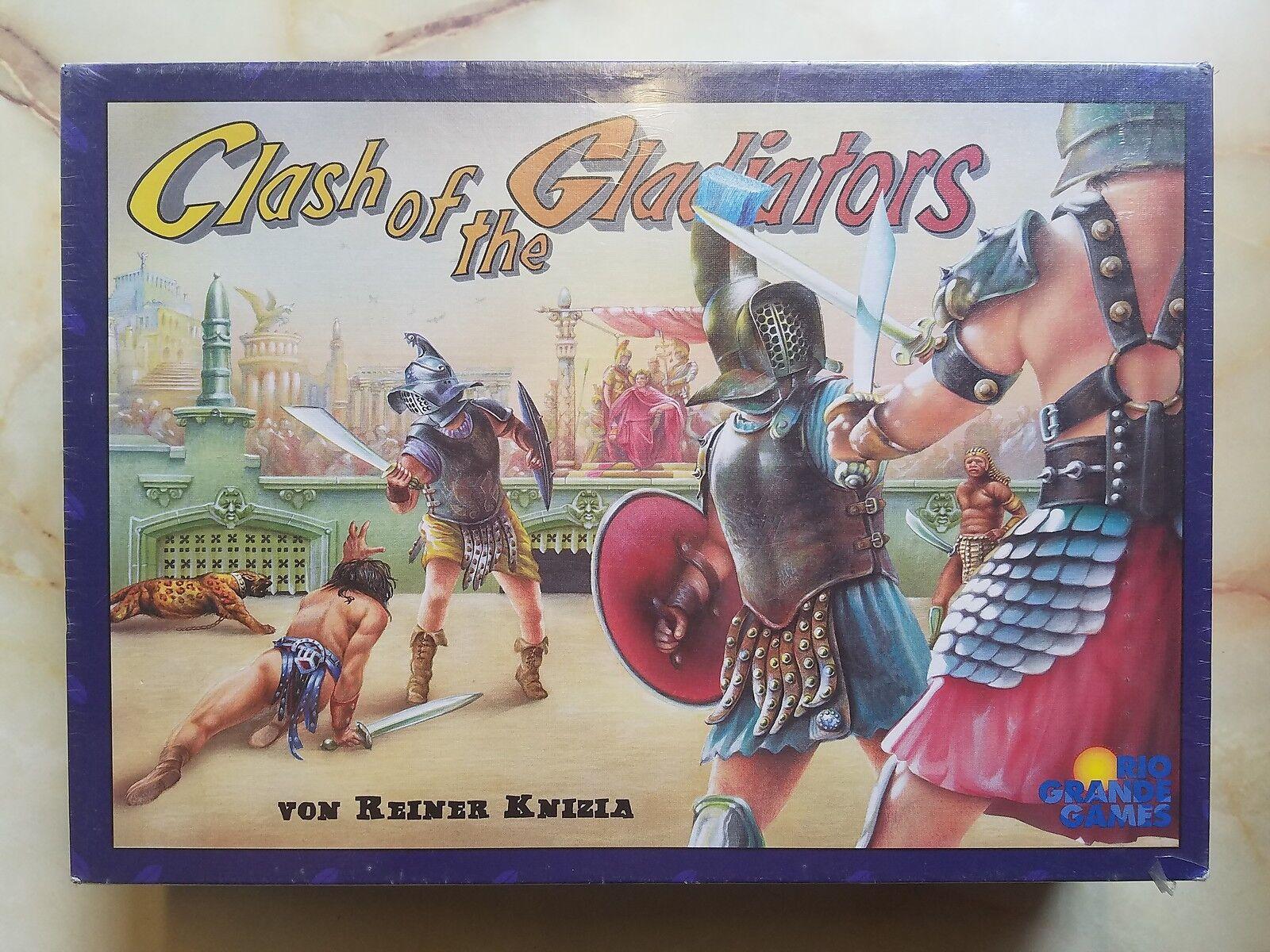 Kampf der gladiatoren brettspiel fabrik versiegelt 2002 rio grande games