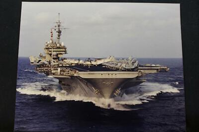 8' X 10' Color Photo p1299 Military Ship Photo Uss Kitty Hawk cv-63