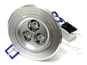 Foco-Desde-Techo-Para-Led-Downlight-3W-3X1W-Blanco-Frio-Modelo-Rodondo
