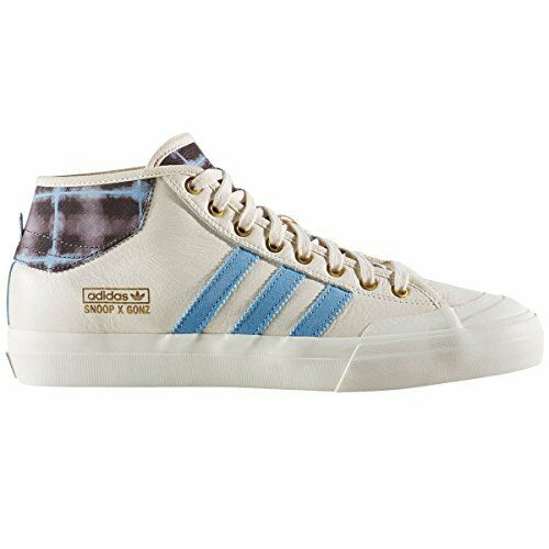 BY4542 Adidas Matchcourt Mid X Snoop Gonz Sneakers Blk//Gold/Grey Mens
