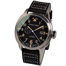 MARC & SONS Automatikuhr Miyota 8217 Herrenuhr Fliegeruhr Pilot Watch MSF-006-4