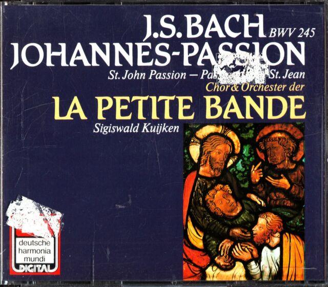 J.S. BACH: St John Passion BWV 245 2-CD -Sigiswald Kuijken (Sonopress) EMI