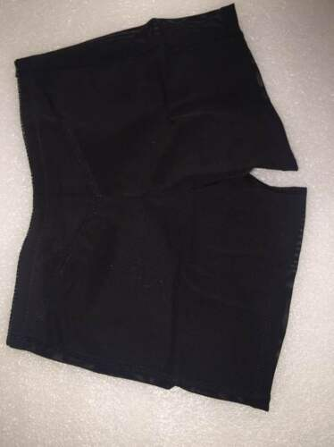 BUTT LIFTER BOY SHORTS Lift But Instantly Tummy Control BLACK COLOR Size:LARGE