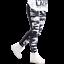 NEBBIA Leggings Camo Combi White 246