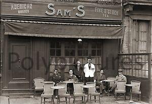 Photo ancien commerce de Toulouse Café bistro Bar Aimé tirage repro an 1920
