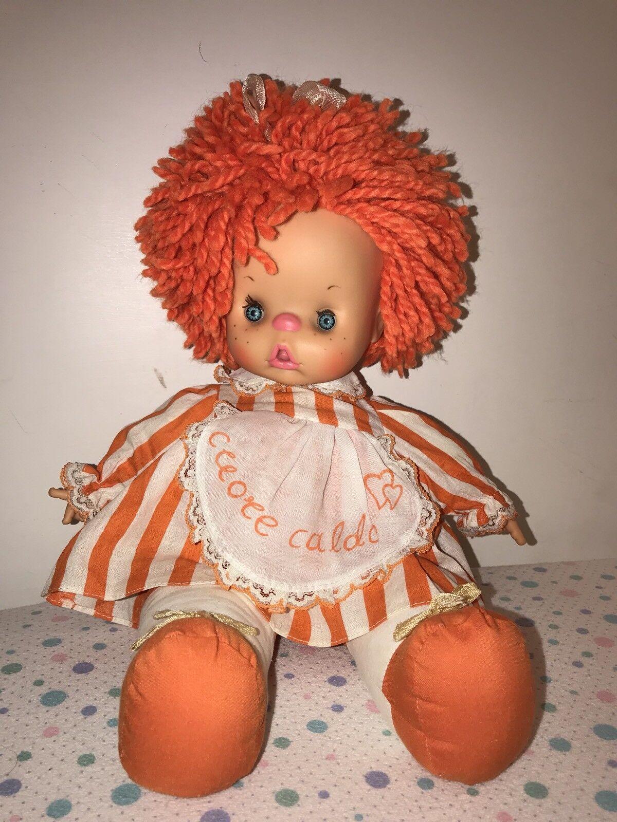 Bambola Cuore Caldo Gig Arancione Arancione Arancione Con Disco (leggi) 7b1565