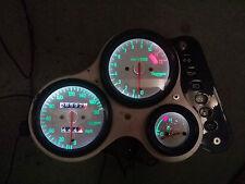 WHITE TRIUMPH 955i led dash clock conversion kit lightenUPgrade