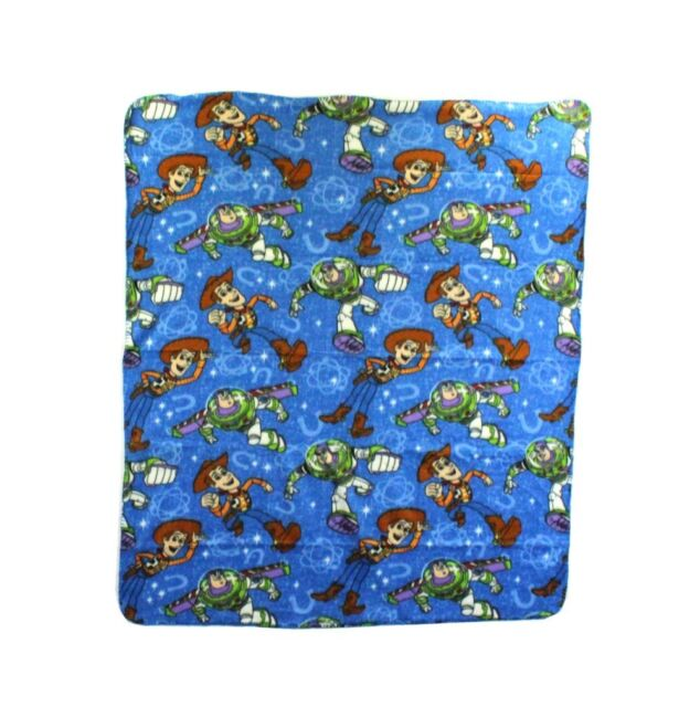 Toy Story Heroes In Training Beyond Infinity Buzz Woody Fleece Blanket Throw NEW
