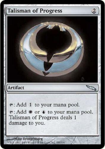 ▼▲▼ Talisman de progrès Talisman of Progress Mirrodin #256 VF Magic