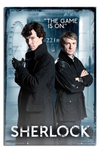 Sherlock 221b Baker Street Large Maxi Wall Poster New Laminated Available