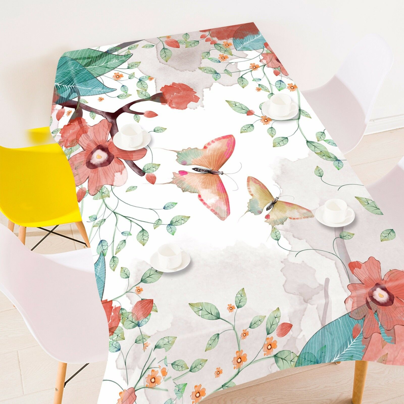 3D Butterfly 7 Tablecloth Table Cover Cloth Birthday Party Event AJ WALLPAPER UK