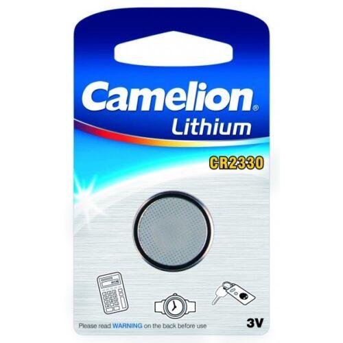 1 Blister 1 Knopfbatterie Cr2330 3v Lithium Camelion