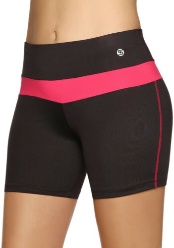 Compression Shorts for Women Ideal for Sports Yoga Running Gym Stretch S M L XL