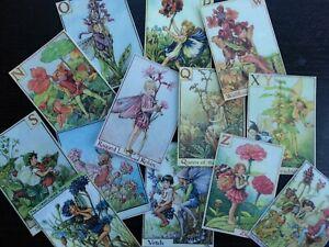 Die Cuts Scrapbooking BB31C:Vintage images of Flower Fairies