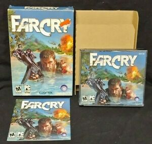 Far Cry 1 PC FarCry 2004 Original PC CD-ROM Complete Mint Discs 1 Owner