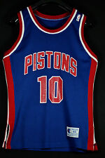 Authentic 1990 Champion Dennis Rodman Detroit Pistons SZ 44 NBA Trikot Jersey