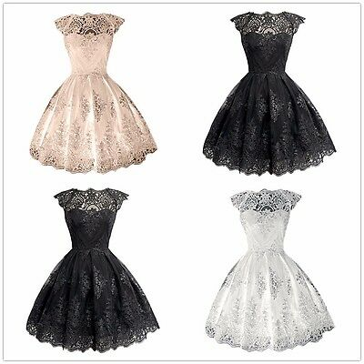 Short Formal Evening Cocktail Dress Prom Ball Party Gown Bridesmaid Dresses