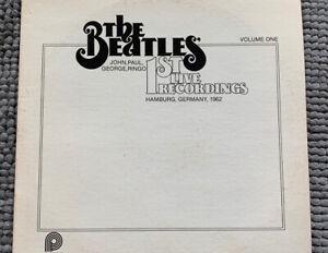 The-Beatles-1st-Live-Recordings-Volume-One-Original-Vinyl-Record-LP-1979