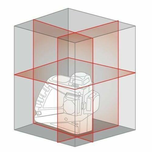 METRICA61405 Livella Laser Autolivellante 3D Junior 360° Autolivello Batteria