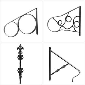 Handrails-for-Outdoor-Step-Wrought-Iron-Handrail-20-034-Length-Porch-Deck-Railing
