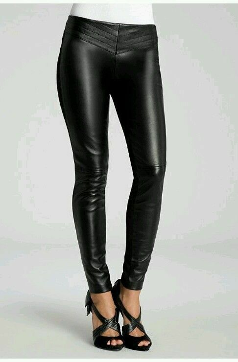 278 GUESS BY MARCIANO ANNAISES LEATHER-FRONT LEGGING