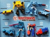 Mcdonald's 2016 Transformers Complete Set Of 8 -on Hand- Free Shipping