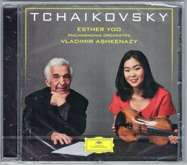 Esther YOO: TCHAIKOVSKY Violin Concerto Serenade Melancolique ASHKENAZY DG CD
