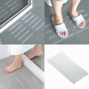5Pcs Anti Slip Shower Strips Transparent Non-Slip Stickers ...