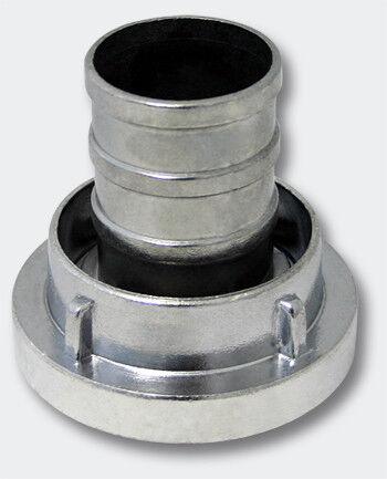 Storz Kupplung D 25 mm langer Stutzen Schlauchkupplung Aluminium