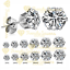 2Pcs-Women-Men-Kids-Surgical-Steel-Hypo-Allergenic-AAA-CZ-Crystal-Stud-Earrings thumbnail 1