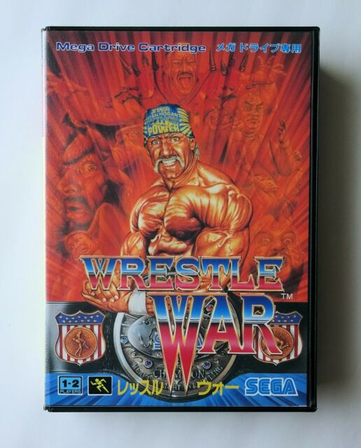 WRESTLE WAR [ G-4055 ] Sega Mega Drive Japan