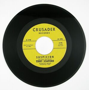 TERRY-STAFFORD-Suspicion-Judy-7IN-1964-ROCK-VG