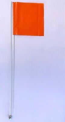 Canam Can AM Maverick X3 Polaris RZR 6/' ATV Whip Flag Glamis Orange Heavy Duty