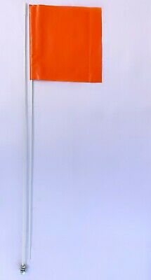 YXZ1000 RZR WILD CAT RHINO UTV 2 PART 7/' ATV WHIP FLAG GLAMIS DUNE ORANGE