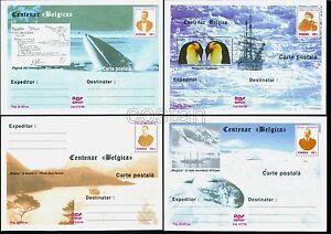 1998 BELGICA,de Gerlache,Amundsen,Masonic,Cook,Polar,Racovita,Romania=19xPS card